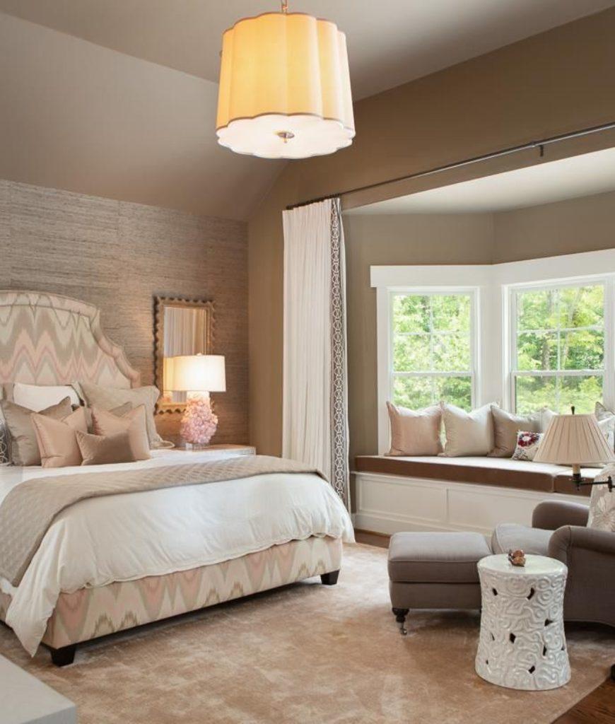 White Beige Bedroom - Bedroom design ideas