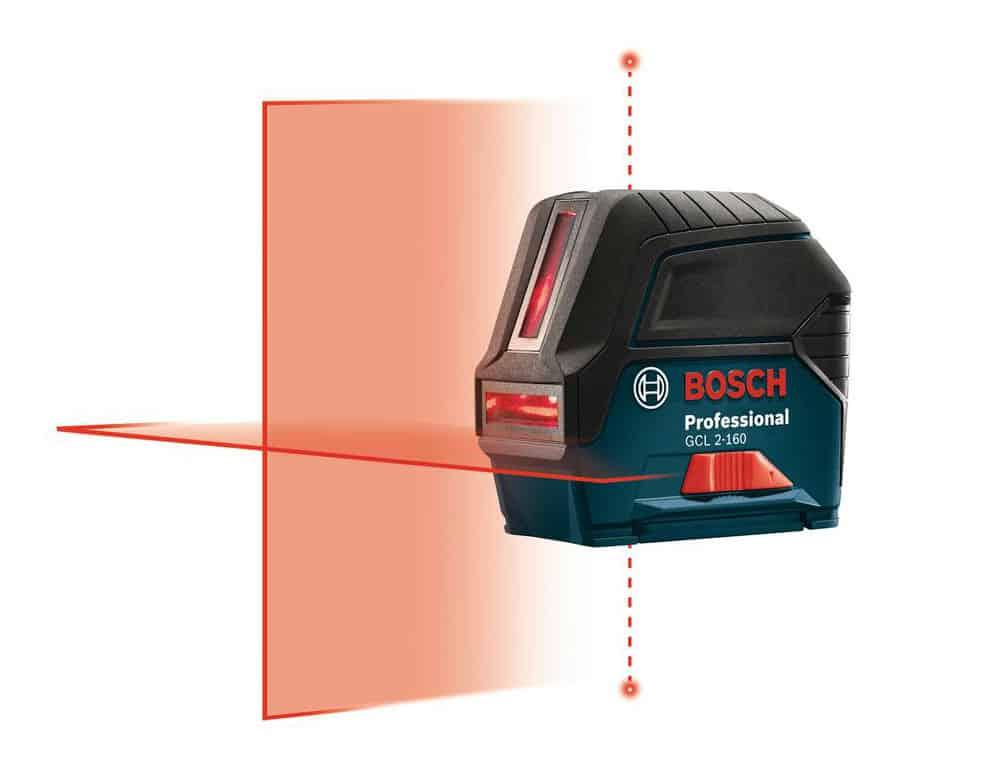 Laser for wallpaper