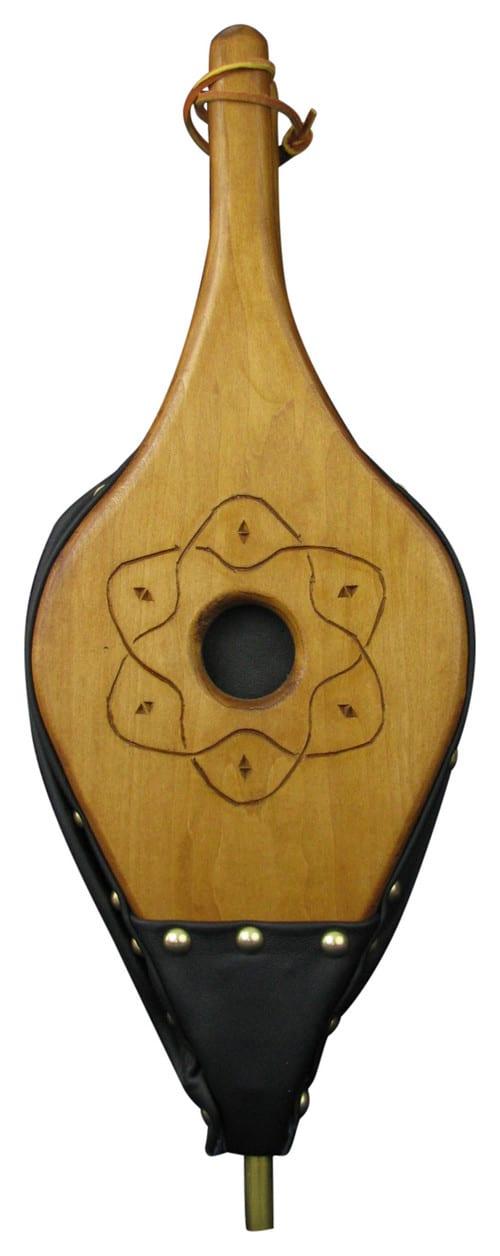 Wood fireplace tool