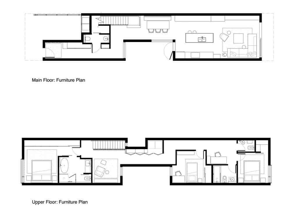 The house's architecture plan design. Photo credit: Falken Reynolds