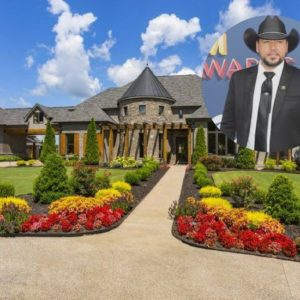 Jason Aldean lists his Tennessee estate for $7.875M.