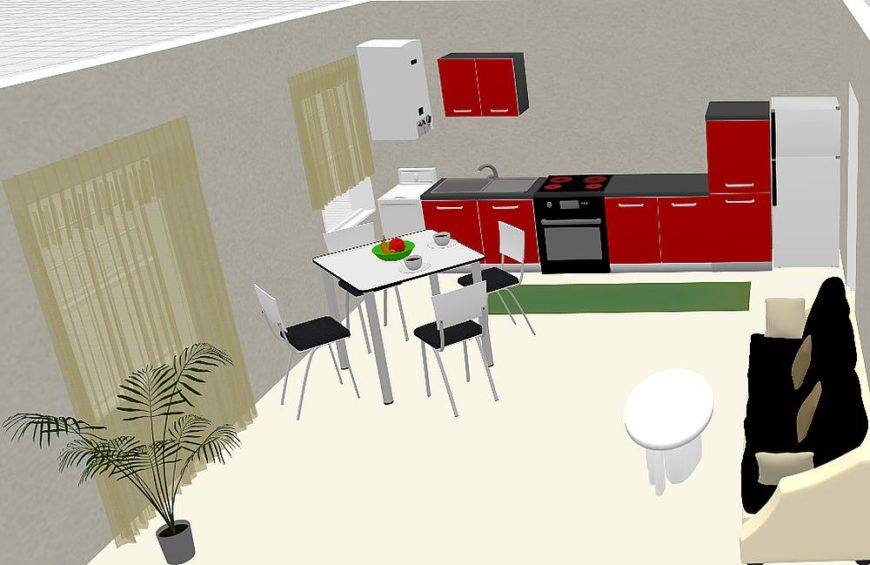 Kitchen design by PlanningWiz software