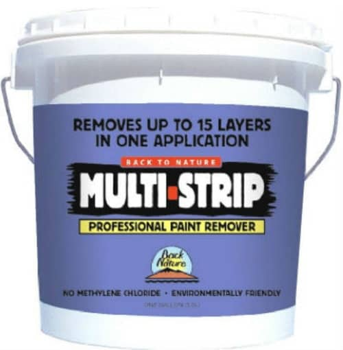 Multi-strip professional paint remover.