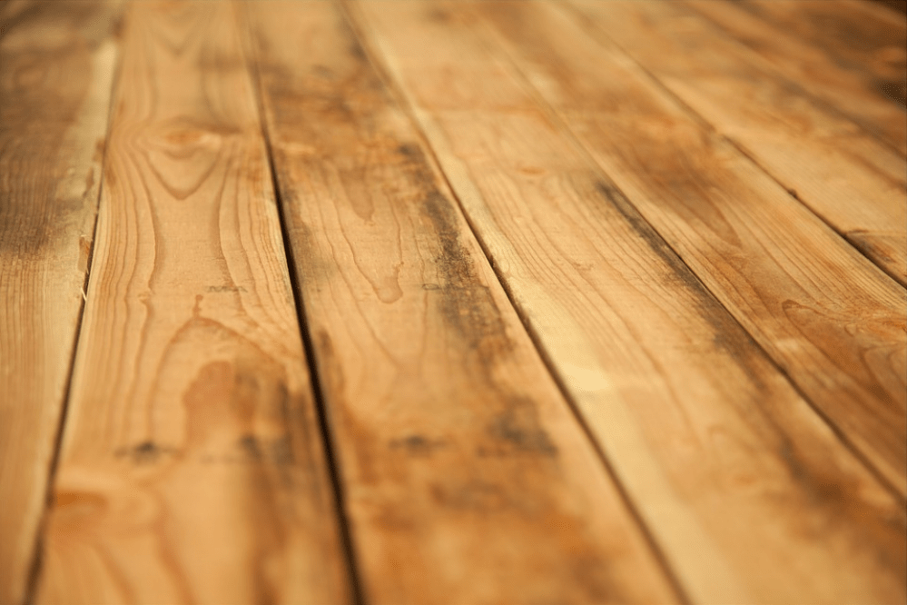 Hardwood flooring is not a good idea if you have pets because it is not water resistant, and can be damaged by pets' urine and water spillage.