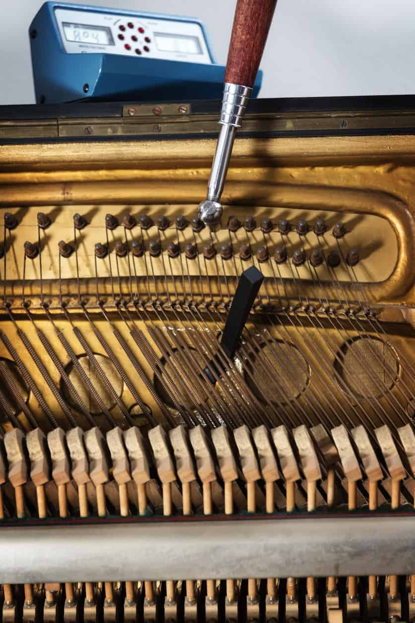 11 Different Types Of Piano Tuning Tools