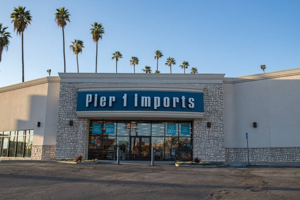 A Pier 1 Imports store in the Hollywood area of Los Angeles, CA.