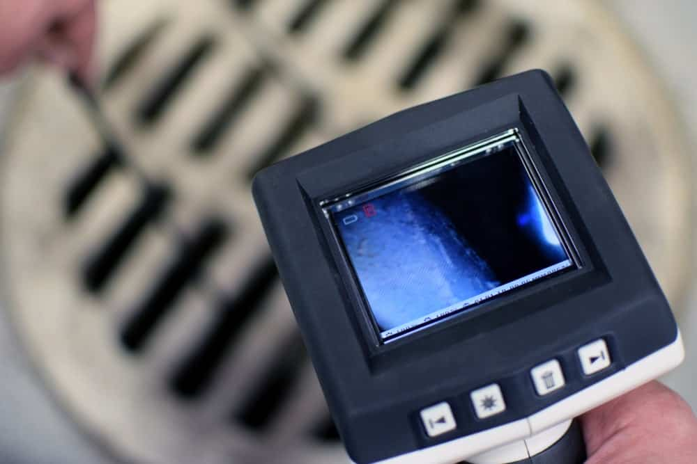 Pipe inspection cameras used by professional plumbers.