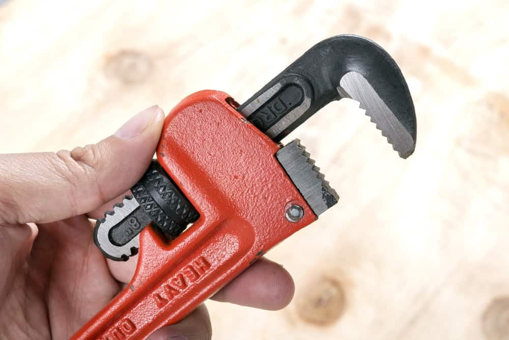 The pipe wrench is an essential tool that no plumber should be without.