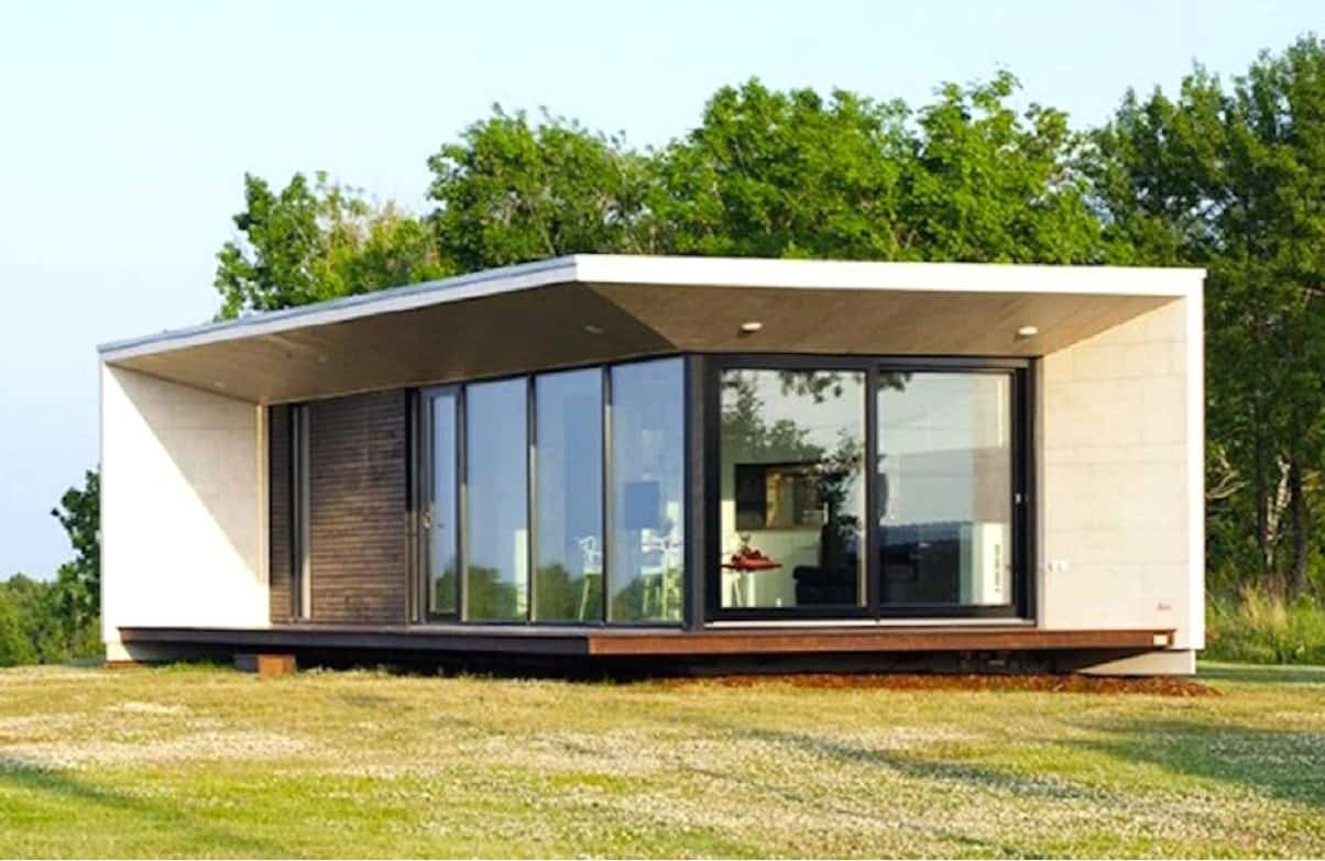 Prefabricated homes are eco-friendly and features advance furniture and appliances inside.