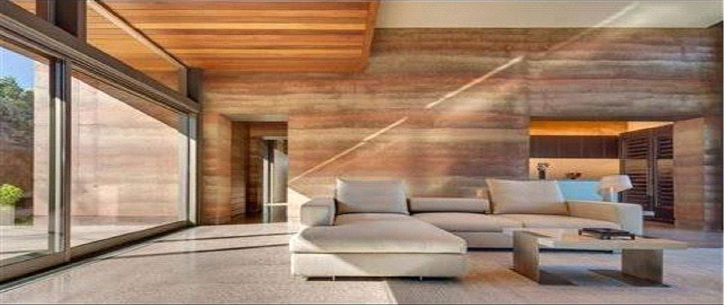 Rammed earth eco-friendly homes are also very modish and comfortable.