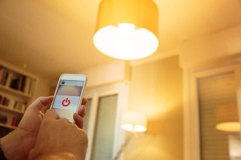 A light that can be controlled using your phone and wi-fi.