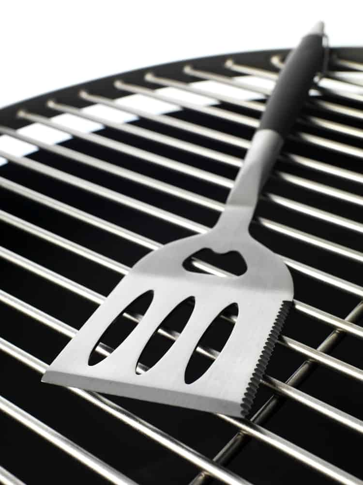 Top-class spatula for grilling.