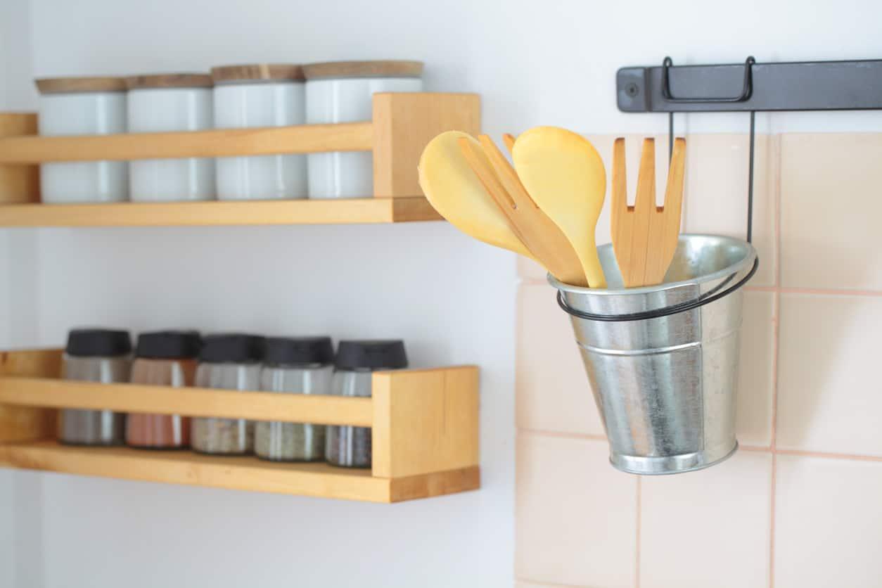 How to Organize Kitchen Utensils (20 Storage Options)