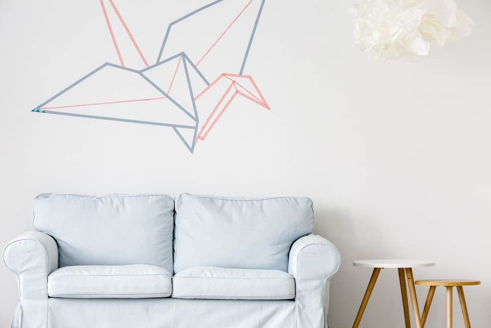 tape wall decoration