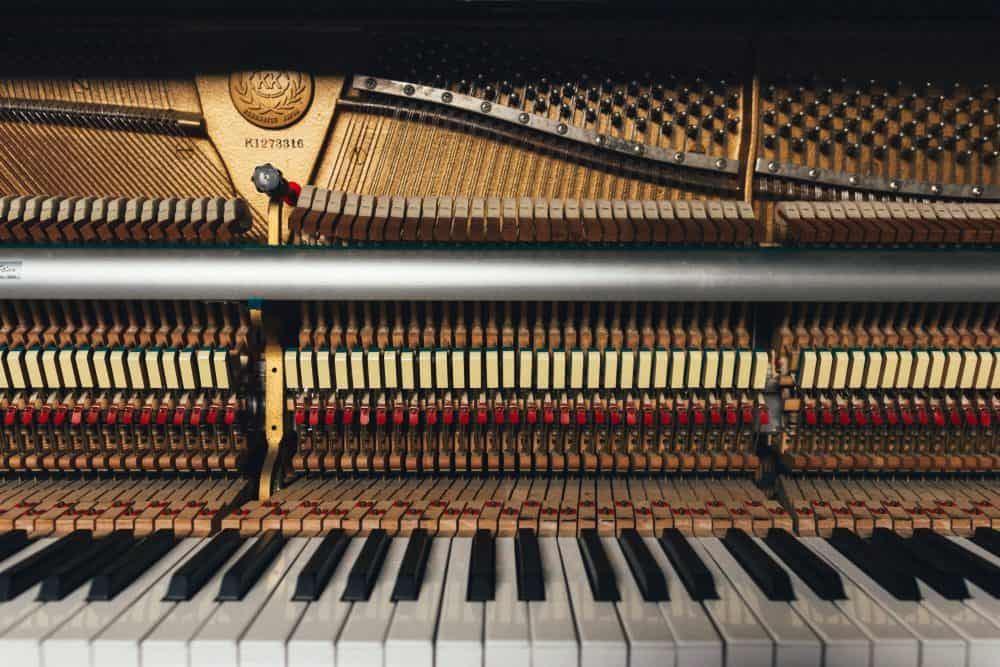 Types of piano tuning tools.