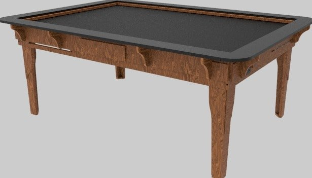 Table of Ultimate Gaming 4.6 ELITE Series - Standard Table Height