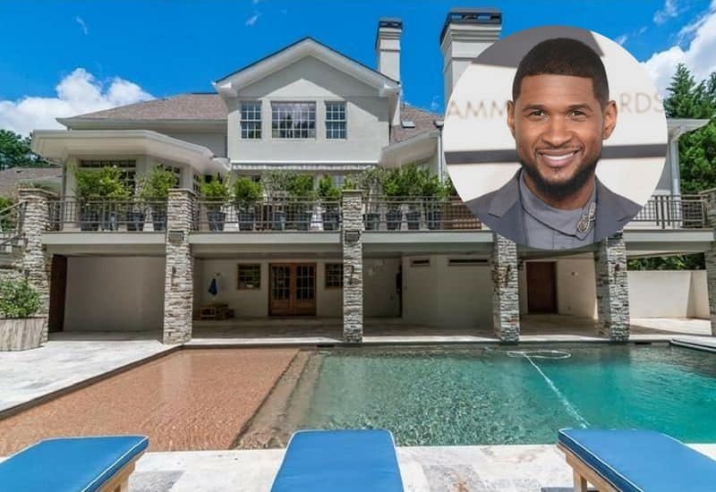 Usher sold Georgia mansion for $1.5 million.