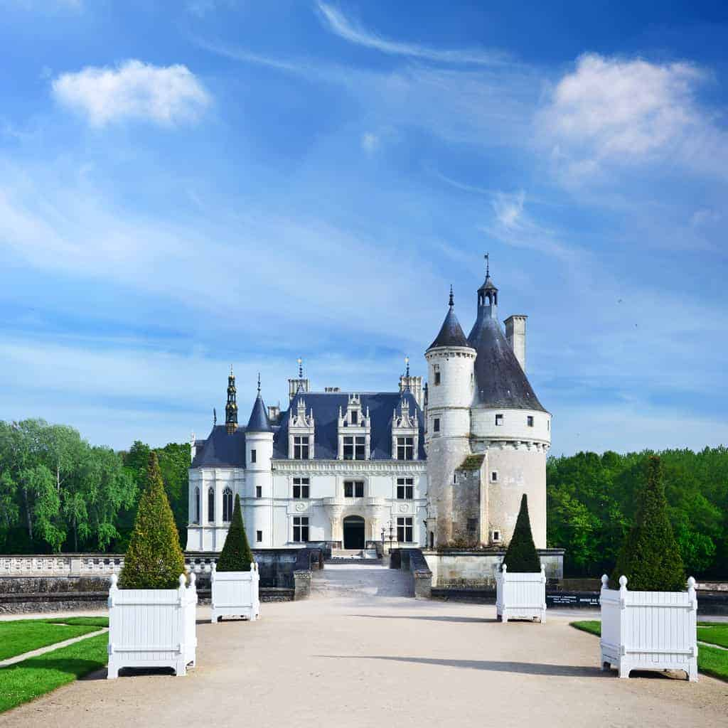 Chateau de Chenonceau is a castle near the small village of Chenonceaux on the River Cher. This castle was built between 1515 and 1521 by Thomas Bohier, Chamberlain for King Charles VIII of France. Today, the Chateau of Chenonceau is second only to Versailles as the most visited chateau in France.