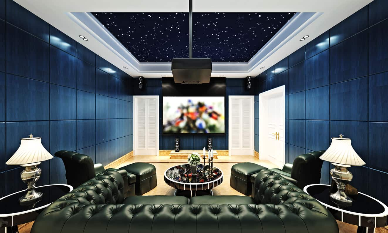 100 Home Theater & Media Room Ideas (2018) (Awesome)