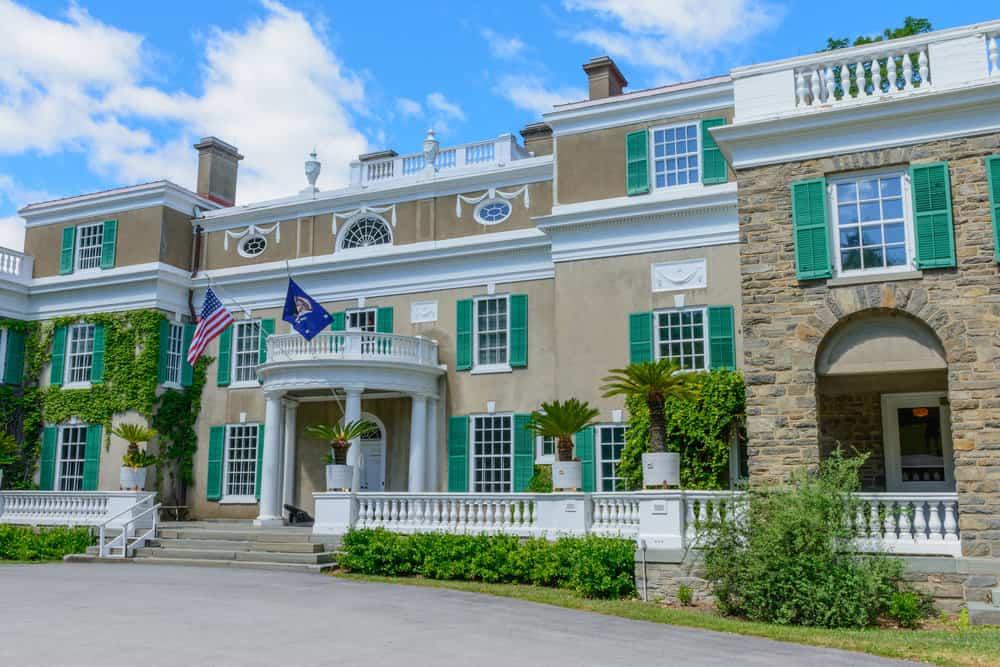 Franklin D Roosevelt mansion in New York