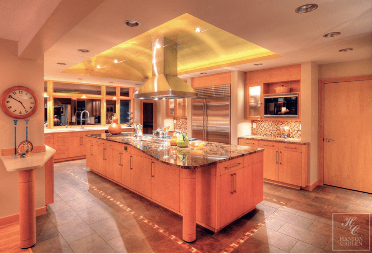 Hanson Carlen Kitchen Example Custom Home