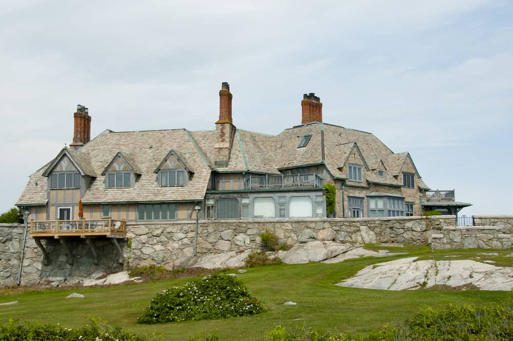 Sheep Point Cove mansion in Newport, Rhode Island