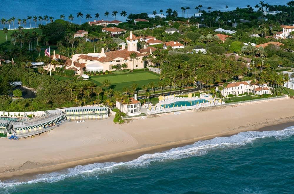 Mar a lago mansion in Palm Beach, Florida