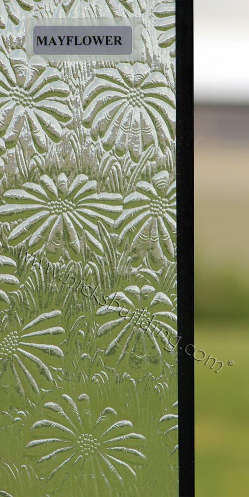 Mayflower glass design