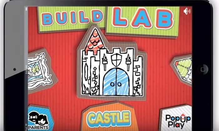 PopUp Play Build Lab Castle Playhouse Model