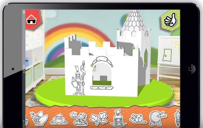PopUp Play Build Lab Designing Castle Playhouse Model 4