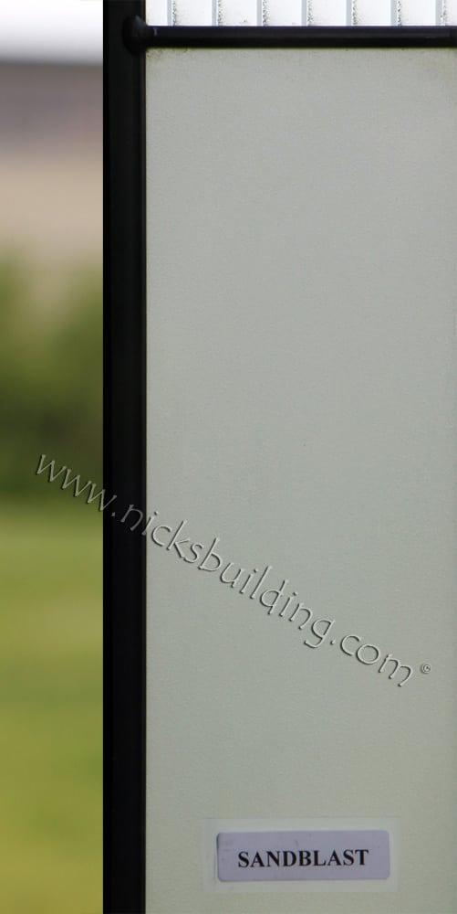 Sandblast Glass Design