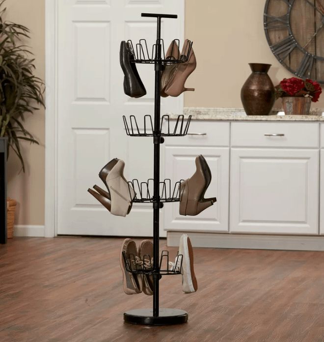 Shoe tree for shoe storage and organization sept6