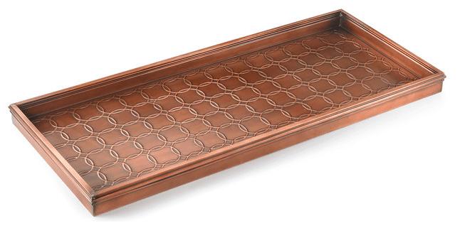 Stylish boot tray