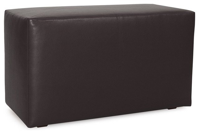 Black, universal bench cover.