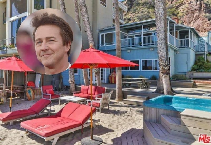 Edward Norton puts his Malibu pad on the market for $5.25 million.