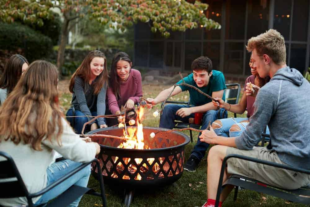 Image result for friends fire pit