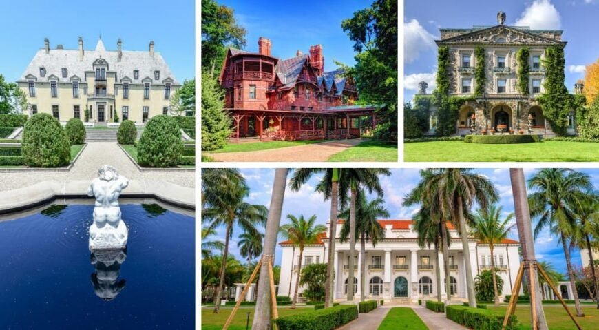 73 Fabulous Historic Homes Amp Mansions In The Usa