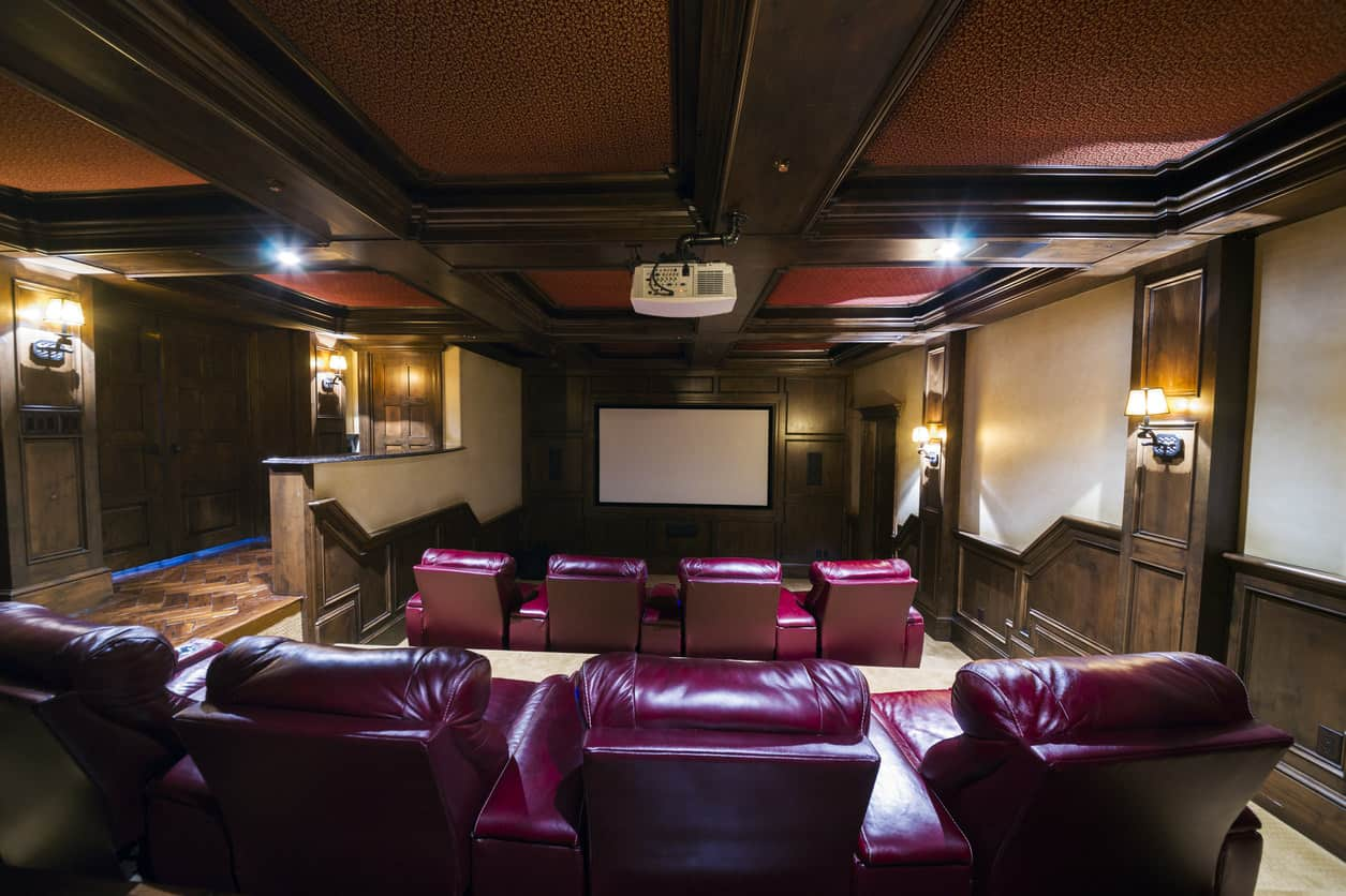 Home Theater And Media Room Photo Ideas