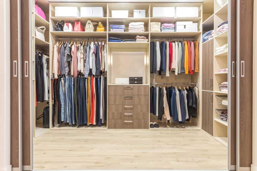 Incredible spacious walk-in closet
