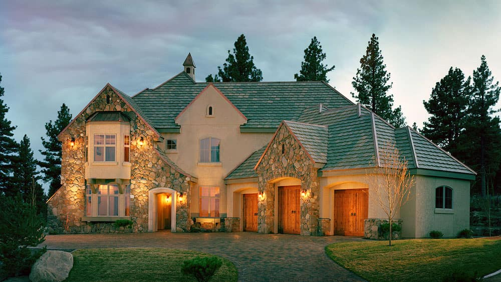 Custom home built by Lake Crest Builders located in Reno, Nevada