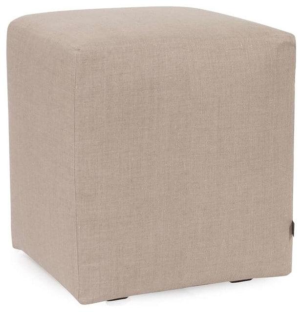 Linen cube cover.