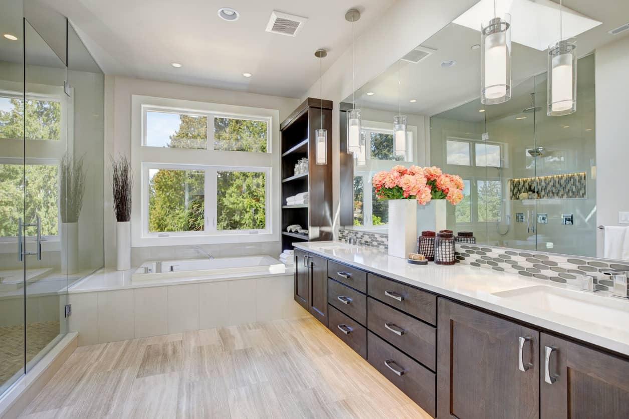 Master Bathroom Interior Design: 101 Custom Master Bathroom Design Ideas (2019 Photos