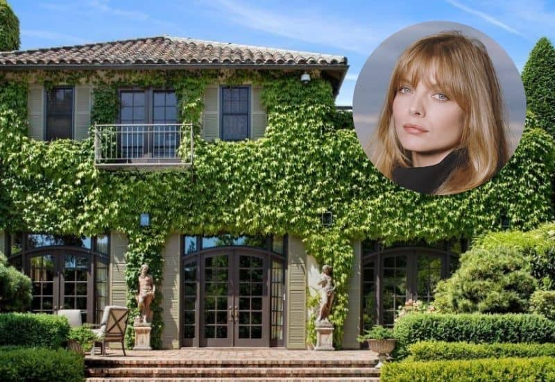 Michelle Pfeiffer's former Woodside home worth a whopping $29.5 million.