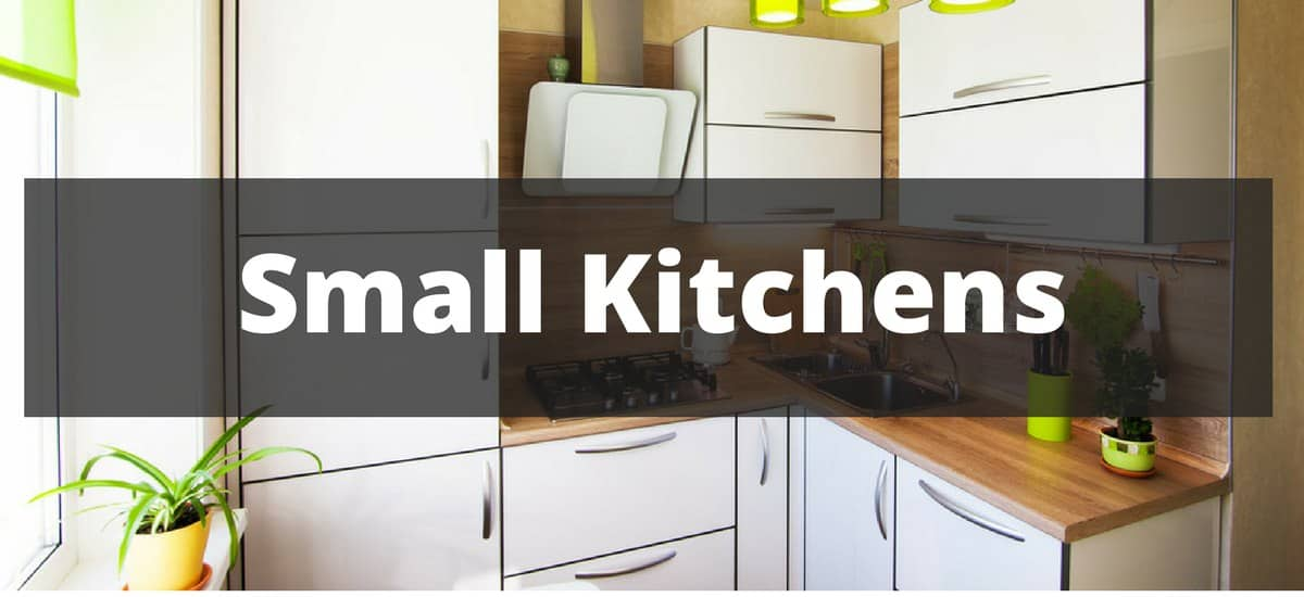 "Small kitchen that says ""small kitchens"""