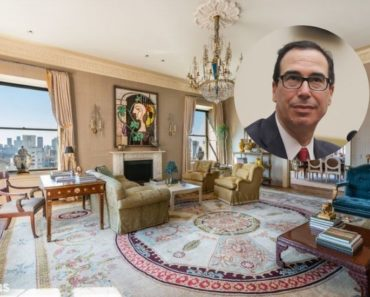 Steve Mnuchin sells his Manhattan home for $32 million.
