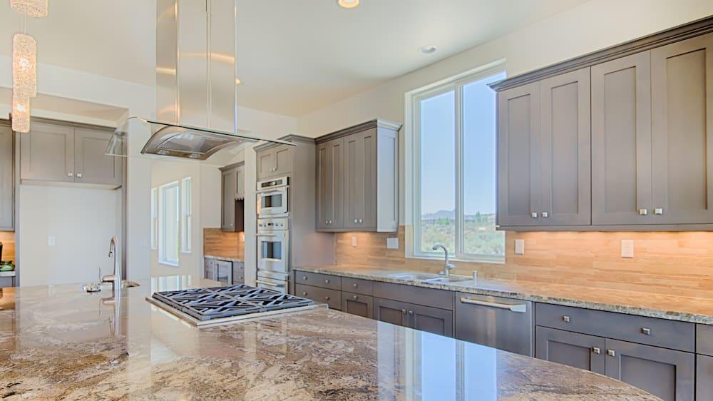 Kitchen design by YR Homes - a Reno, NV home builder.