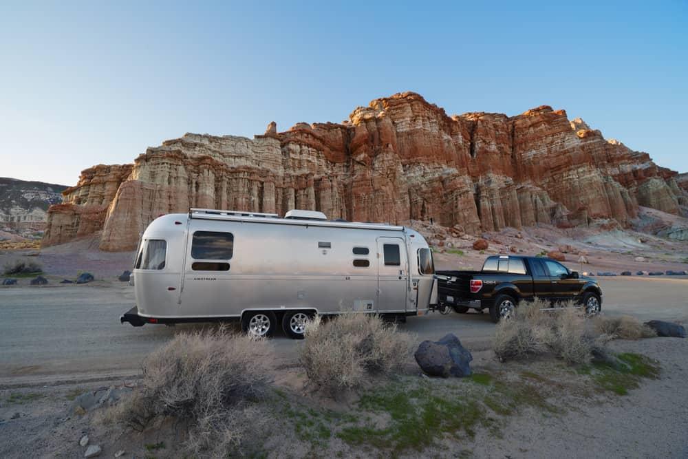 Airstream RV travel trailer example