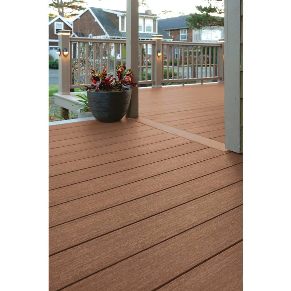 Example of PVC decking.