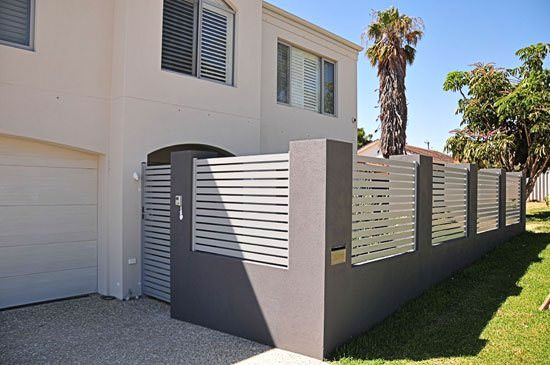 Infill style fence for a privacy fence