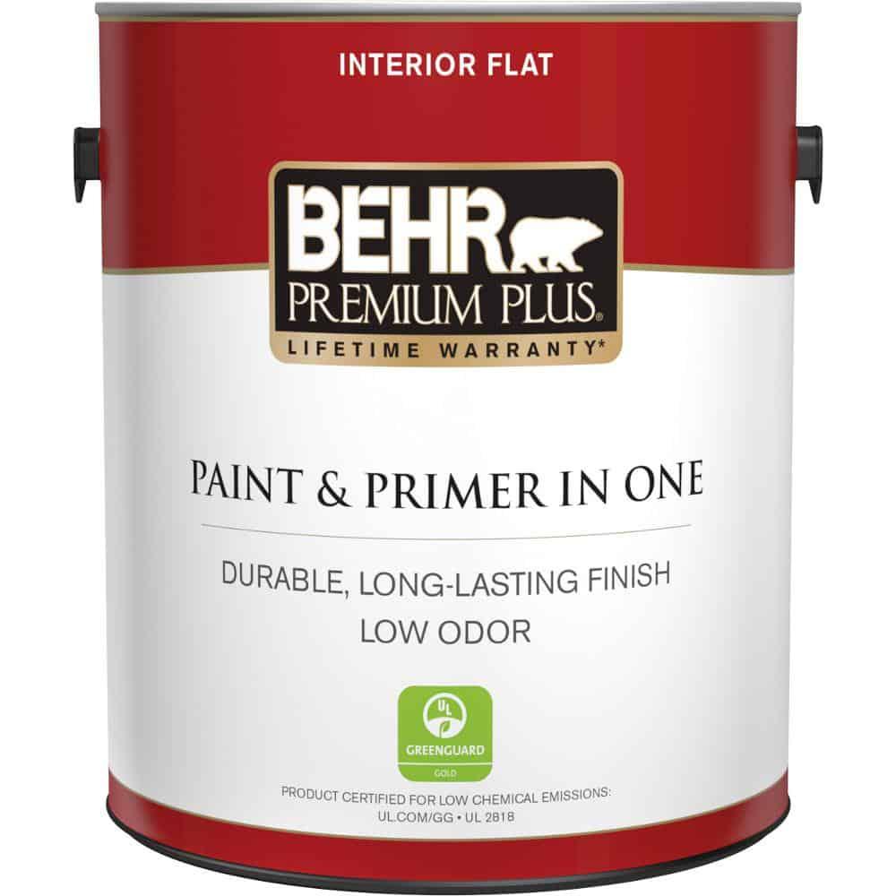 Flat paint